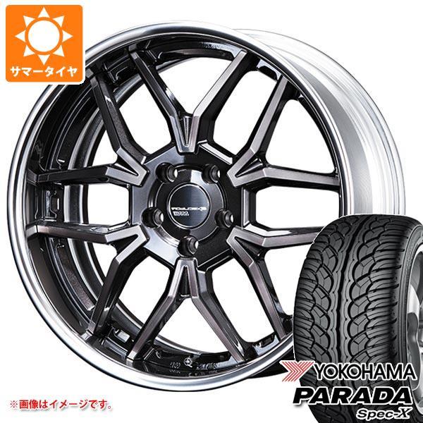 サマータイヤ 235/55R20 102V ヨコハマ パラダ スペック-X PA02 SSR エグゼキューター EX06 8.5-20 タイヤホイール4本セット