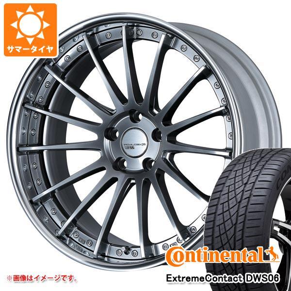 サマータイヤ 235/55R19 105W XL コンチネンタル エクストリームコンタクト DWS06 SSR エグゼキューター CV04 8.0-19 タイヤホイール4本セット