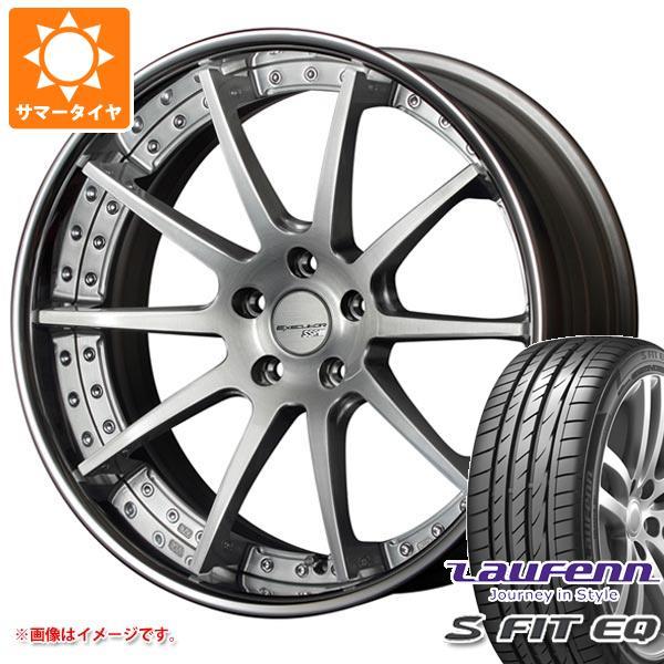 サマータイヤ 235/35R19 91Y XL ラウフェン Sフィット EQ LK01 SSR エグゼキューター CV01 8.0-19 タイヤホイール4本セット