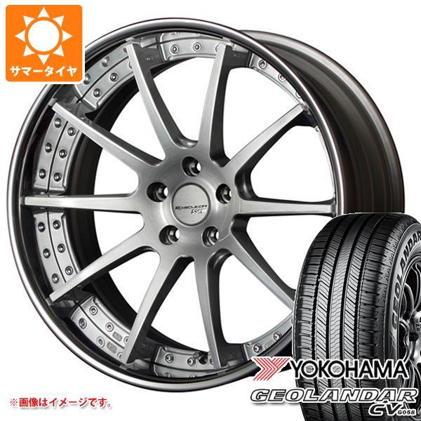 サマータイヤ 235/55R20 102V ヨコハマ ジオランダー CV SSR エグゼキューター CV01 8.0-20 タイヤホイール4本セット