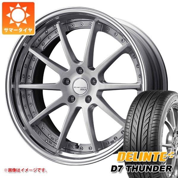 高級素材使用ブランド サマータイヤ 245/35R20 95W XL デリンテ D7 サンダー & SSR エグゼキューター CV01S 8.0-20 タイヤホイール4本セット, 国頭村 0a86d888