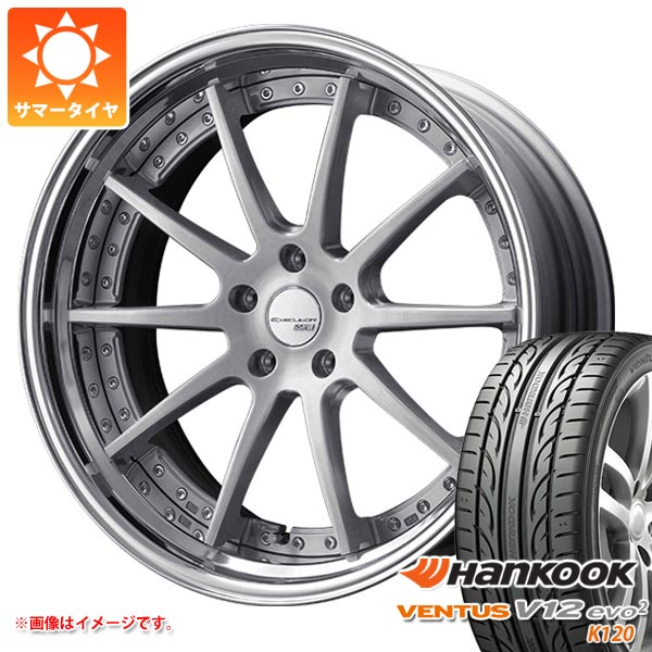最低価格の サマータイヤ 245/30R20 90Y サマータイヤ XL ハンコック ベンタス V12evo2 ハンコック K120 SSR SSR エグゼキューター CV01S 8.0-20 タイヤホイール4本セット, オールジュエリー:b1b49ce4 --- estoresa.co.za
