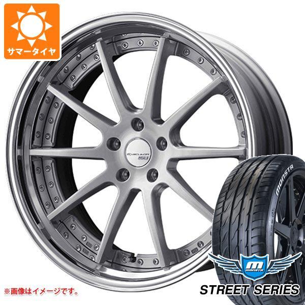 サマータイヤ 245/35R20 99V XL モンスタ ストリートシリーズ ホワイトレター SSR エグゼキューター CV01S 8.0-20 タイヤホイール4本セット