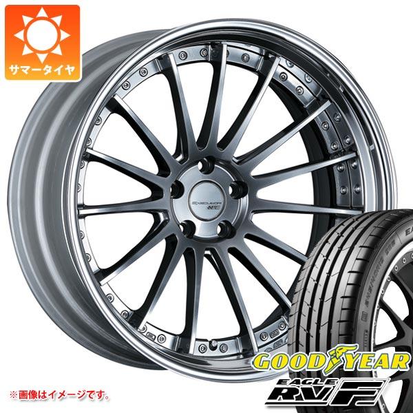 サマータイヤ 245/35R20 95W XL グッドイヤー イーグル RV-F & SSR エグゼキューター CV04S 8.0-20 タイヤホイール4本セット