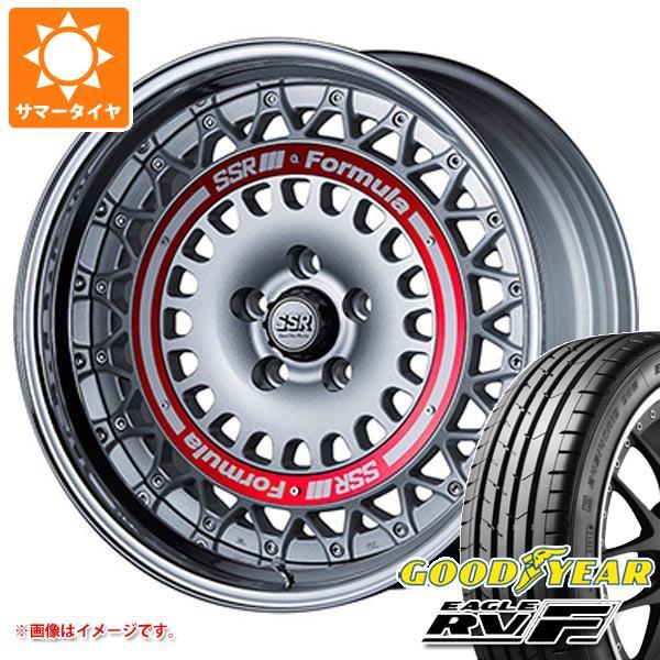 サマータイヤ 215/50R18 92V グッドイヤー イーグル RV-F SSR フォーミュラ エアロメッシュ 7.5-18 タイヤホイール4本セット