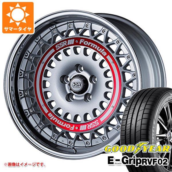 柔らかい サマータイヤ 225/50R18 99V XL グッドイヤー XL エフィシエントグリップ 7.5-18 RVF02 RVF02 SSR フォーミュラ エアロメッシュ 7.5-18 タイヤホイール4本セット, アトリエYancy:c87d26f1 --- lucyfromthesky.com