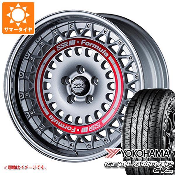 サマータイヤ 225/60R18 100H ヨコハマ ジオランダー CV 2020年4月発売サイズ SSR フォーミュラ エアロメッシュ 7.5-18 タイヤホイール4本セット