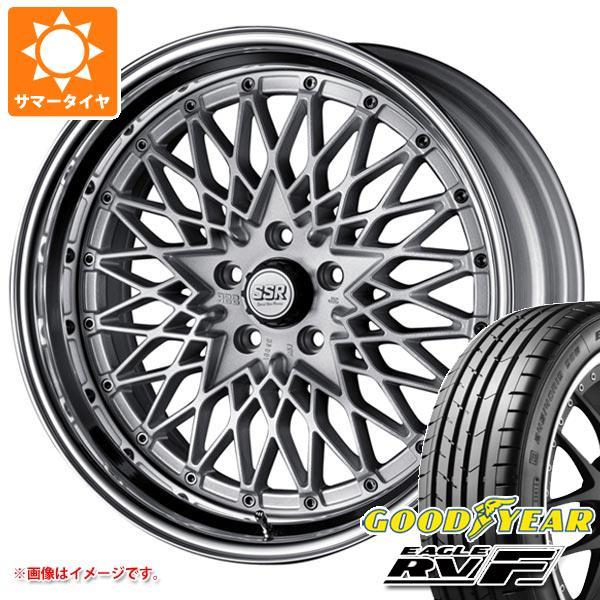 サマータイヤ 215/50R18 92V グッドイヤー イーグル RV-F SSR フォーミュラ メッシュ 7.5-18 タイヤホイール4本セット
