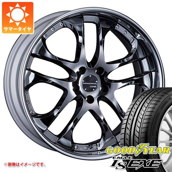 サマータイヤ 245/40R19 98W XL グッドイヤー イーグル LSエグゼ SSR ミネルバ 8.0-19 タイヤホイール4本セット