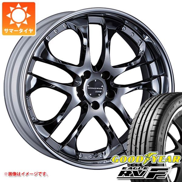 サマータイヤ 245/35R20 95W XL グッドイヤー イーグル RV-F SSR ミネルバ 8.5-20 タイヤホイール4本セット