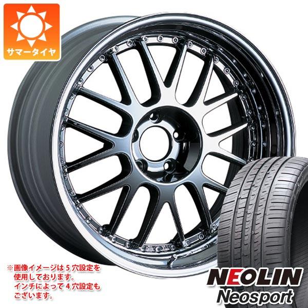 サマータイヤ 245/35R20 95Y XL ネオリン ネオスポーツ SSR プロフェッサー MS1 8.5-20 タイヤホイール4本セット