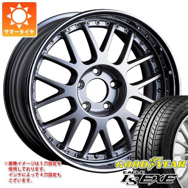 サマータイヤ 205/45R17 88W XL グッドイヤー イーグル LSエグゼ SSR プロフェッサー MS1R 7.0-17 タイヤホイール4本セット