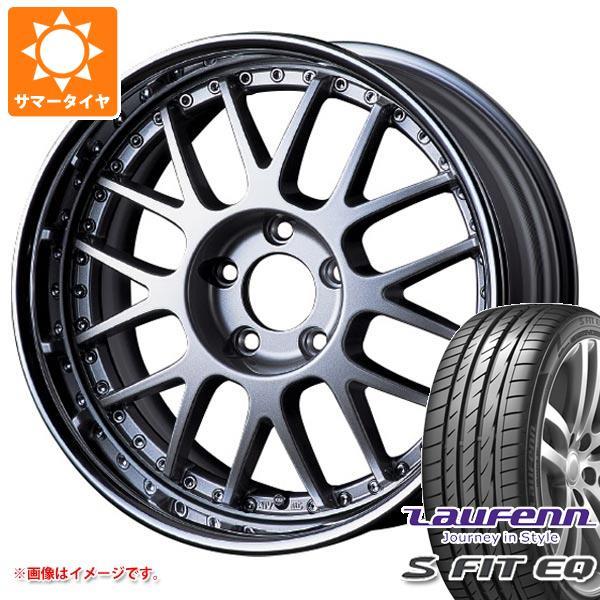 サマータイヤ 215/40R17 87W XL ラウフェン Sフィット EQ LK01 SSR プロフェッサー MS1R 7.0-17 タイヤホイール4本セット