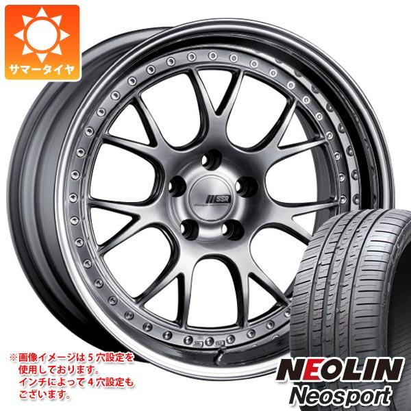 サマータイヤ 245/30R20 95W XL ネオリン ネオスポーツ SSR プロフェッサー MS3 8.5-20 タイヤホイール4本セット