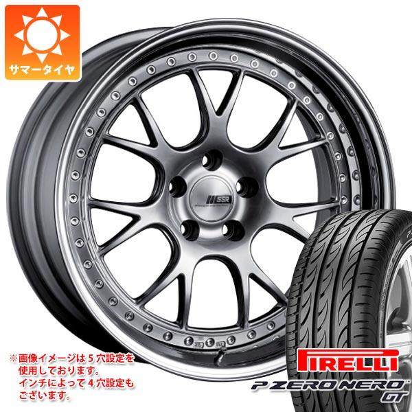 100%本物 サマータイヤ 245/35R19 (93Y) XL ピレリ P ゼロ ネロ GT SSR プロフェッサー MS3 8.0-19 タイヤホイール4本セット, アミマチ da219727