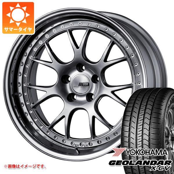 サマータイヤ 235/55R19 105W XL ヨコハマ ジオランダー X-CV G057 SSR プロフェッサー MS3 8.0-19 タイヤホイール4本セット