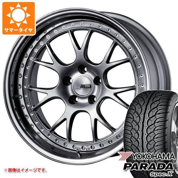 サマータイヤ 235/55R20 102V ヨコハマ パラダ スペック-X PA02 SSR プロフェッサー MS3 8.5-20 タイヤホイール4本セット