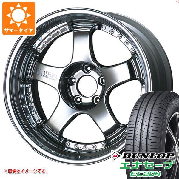 サマータイヤ 215/50R18 92V ダンロップ エナセーブ EC204 SSR プロフェッサー SP1 7.5-18 タイヤホイール4本セット