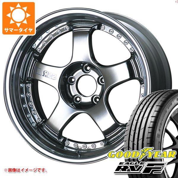 サマータイヤ 215/50R18 92V グッドイヤー イーグル RV-F SSR プロフェッサー SP1 7.5-18 タイヤホイール4本セット