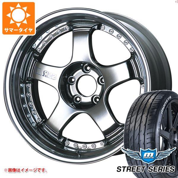 サマータイヤ 225/35R20 93V XL モンスタ ストリートシリーズ ホワイトレター SSR プロフェッサー SP1 8.5-20 タイヤホイール4本セット