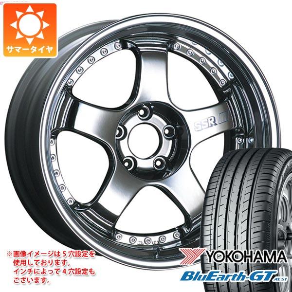 サマータイヤ 225/45R19 96W XL ヨコハマ ブルーアースGT AE51 SSR プロフェッサー SP1 8.0-19 タイヤホイール4本セット