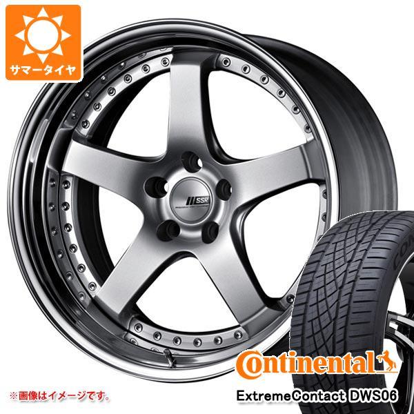 正規品 サマータイヤ 235/55R19 105W XL コンチネンタル エクストリームコンタクト DWS06 SSR プロフェッサー SP4 8.0-19 タイヤホイール4本セット