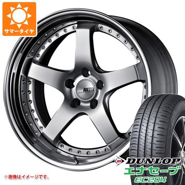 サマータイヤ 215/50R18 92V ダンロップ エナセーブ EC204 SSR プロフェッサー SP4 7.5-18 タイヤホイール4本セット