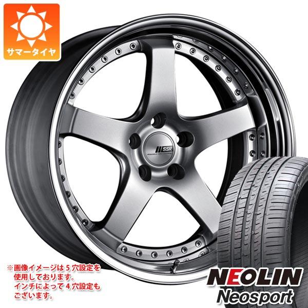 サマータイヤ 245/35R20 95Y XL ネオリン ネオスポーツ SSR プロフェッサー SP4 8.5-20 タイヤホイール4本セット
