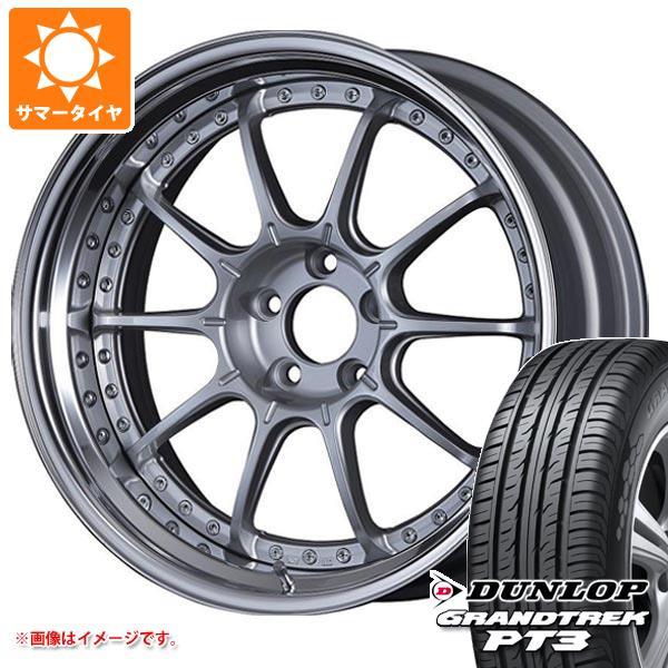 サマータイヤ 235/55R19 101V ダンロップ グラントレック PT3 SSR プロフェッサー SP5 8.0-19 タイヤホイール4本セット