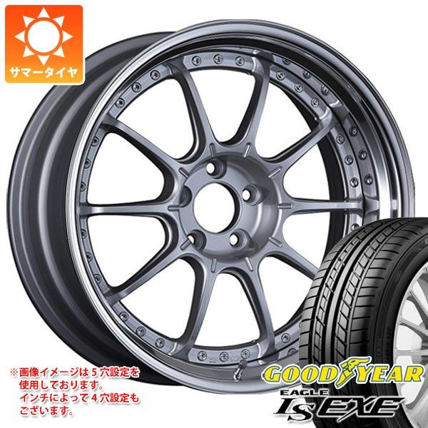 サマータイヤ 245/40R19 98W XL グッドイヤー イーグル LSエグゼ SSR プロフェッサー SP5 8.0-19 タイヤホイール4本セット