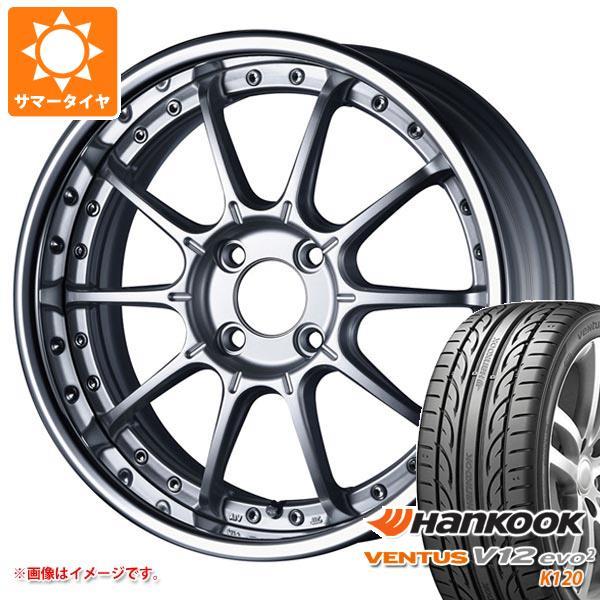 サマータイヤ 205/45R17 88W XL ハンコック ベンタス V12evo2 K120 SSR プロフェッサー SP5R 7.0-17 タイヤホイール4本セット