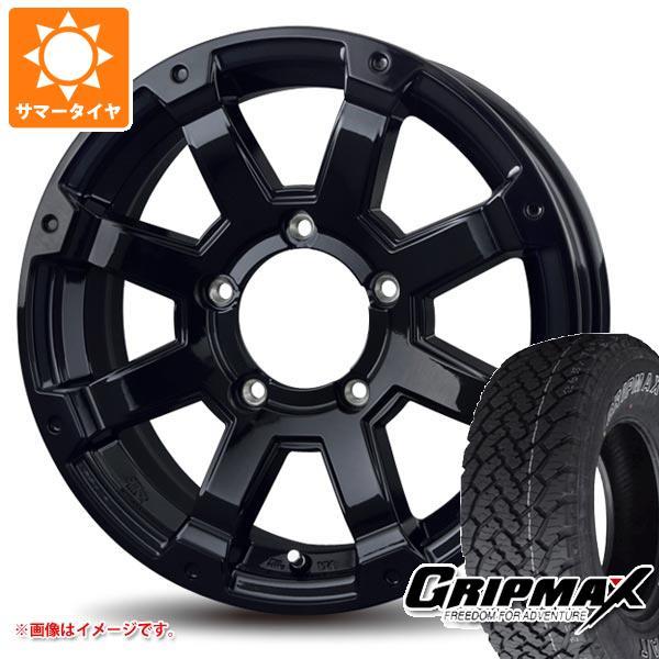 サマータイヤ 215/70R16 100T グリップマックス グリップマックス A/T アウトラインホワイトレター バドックス ロックケリー MX-1 ジムニー専用 5.5-16 タイヤホイール4本セット