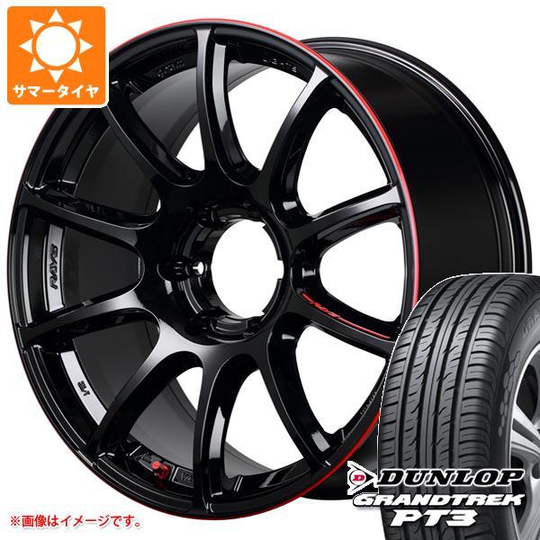 サマータイヤ 285/60R18 116V ダンロップ グラントレック PT3 レイズ グラムライツ 57トランスエックス レブリミットエディション 9.0-18 タイヤホイール4本セット