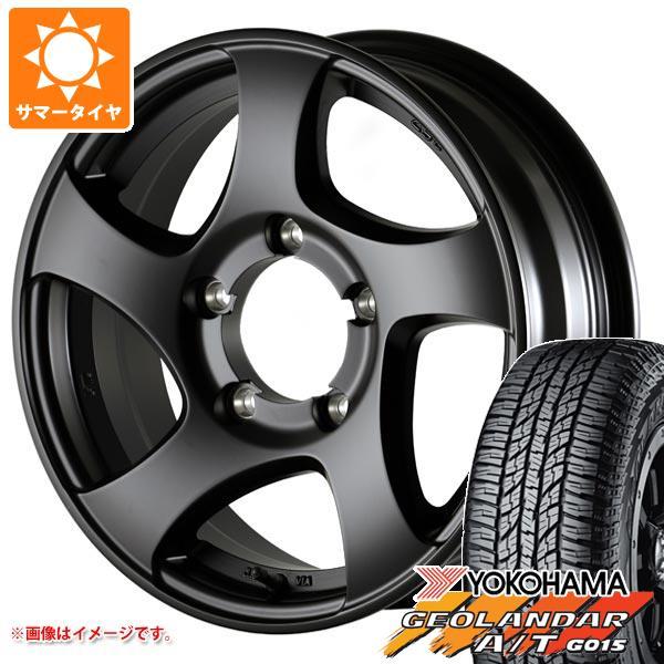 ゼロワンハイパー タイヤホイール4本セット 91S ドゥオール G015 ブラックレター 5.5-16 175/80R16 ジオランダー ヨコハマ JL ジムニー専用 サマータイヤ CST A/T
