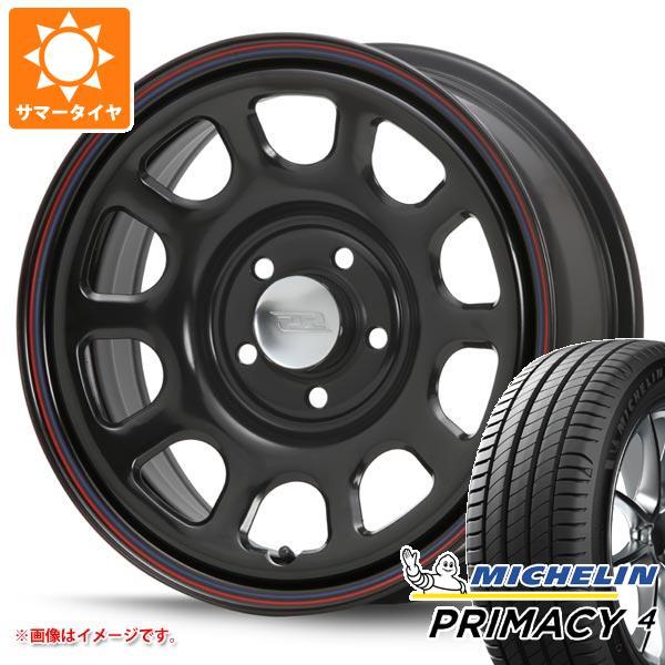 正規品 サマータイヤ 215/65R16 98V ミシュラン プライマシー4 デイトナ SS ブラック 新型デリカD5対応 7.0-16 タイヤホイール4本セット