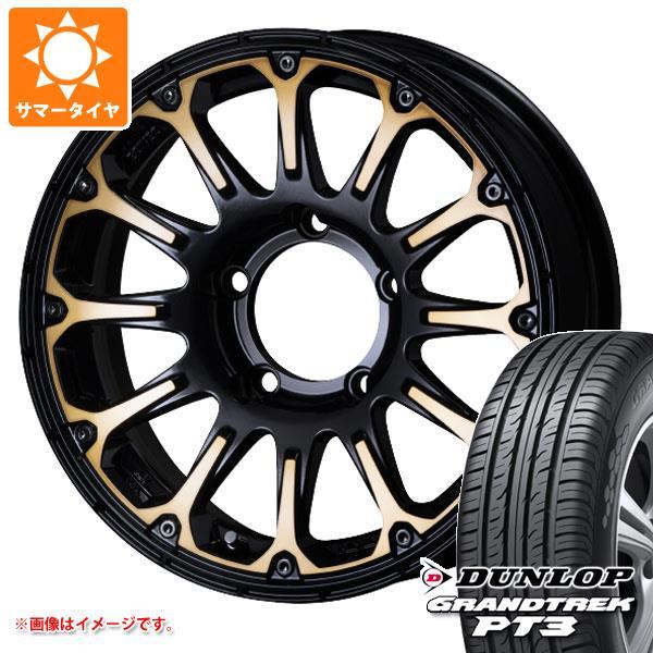 ジムニー専用 サマータイヤ ダンロップ グラントレック PT3 175/80R16 91S SSR ディバイド FT 5.5-16 タイヤホイール4本セット