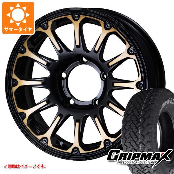 ジムニーシエラ専用 サマータイヤ グリップマックス グリップマックス A/T 215/70R16 100T アウトラインホワイトレター SSR ディバイド FT 5.5-16 タイヤホイール4本セット