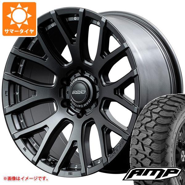 サマータイヤ 275/55R20 115S AMP テレーンアタック A/T レイズ デイトナ F8 ゲイン 9.0-20 タイヤホイール4本セット