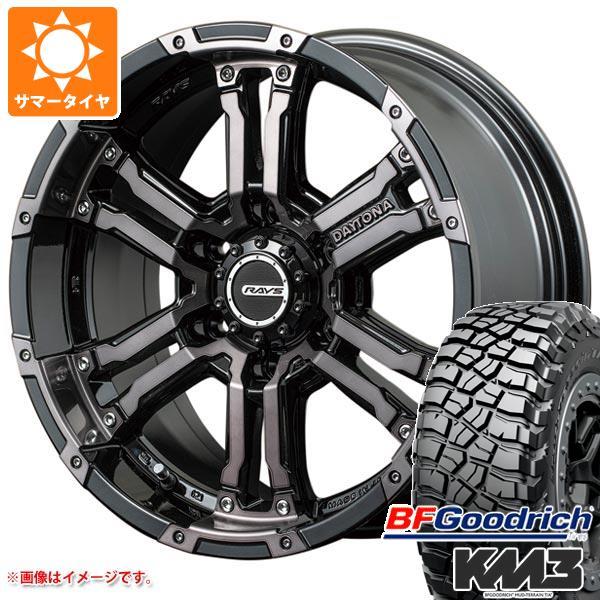 サマータイヤ 265/70R17 121/118Q BFグッドリッチ マッドテレーン T/A KM3 ブラックレター レイズ デイトナ FDX コレクション 8.0-17 タイヤホイール4本セット