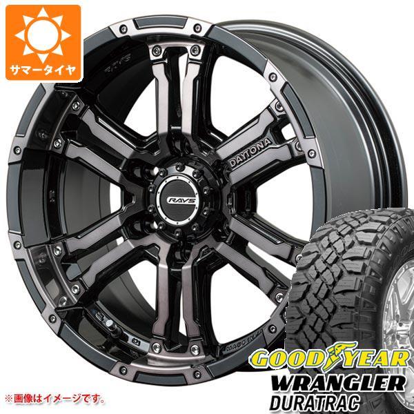 サマータイヤ 265/65R17 112S グッドイヤー ラングラー デュラトラック レイズ デイトナ FDX コレクション 8.0-17 タイヤホイール4本セット