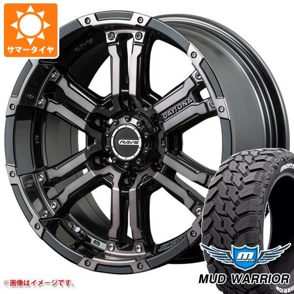 サマータイヤ 265/65R17 120/117Q モンスタ マッドウォーリアー ホワイトレター レイズ デイトナ FDX コレクション 8.0-17 タイヤホイール4本セット
