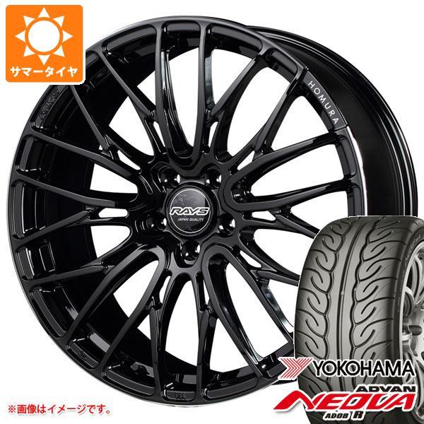 サマータイヤ 245/40R19 94W ヨコハマ アドバン ネオバ AD08 R レイズ ホムラ 2x10 BD 8.5-19 タイヤホイール4本セット