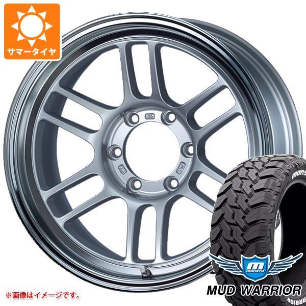 サマータイヤ 265/65R17 120/117Q モンスタ マッドウォーリアー ホワイトレター ENKEI エンケイ オールロード RPT1 8.5-17 タイヤホイール4本セット