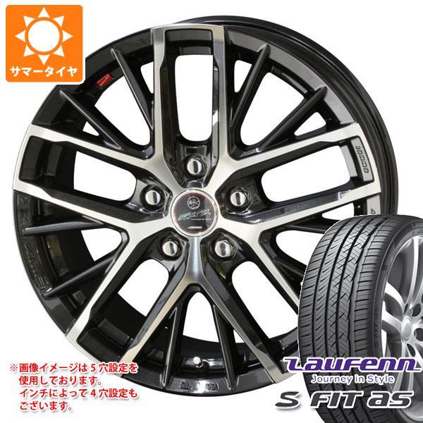 サマータイヤ 225/50R18 95W ラウフェン Sフィット AS LH01 スマック レヴィラ 7.0-18 タイヤホイール4本セット