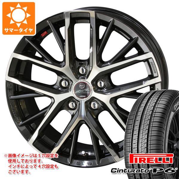 正規品 サマータイヤ 215/65R16 98H ピレリ チントゥラート P6 スマック レヴィラ 6.5-16 タイヤホイール4本セット