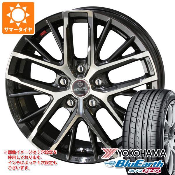 2020年製 サマータイヤ 205/60R16 92H ヨコハマ ブルーアース RV-02 スマック レヴィラ 6.5-16 タイヤホイール4本セット