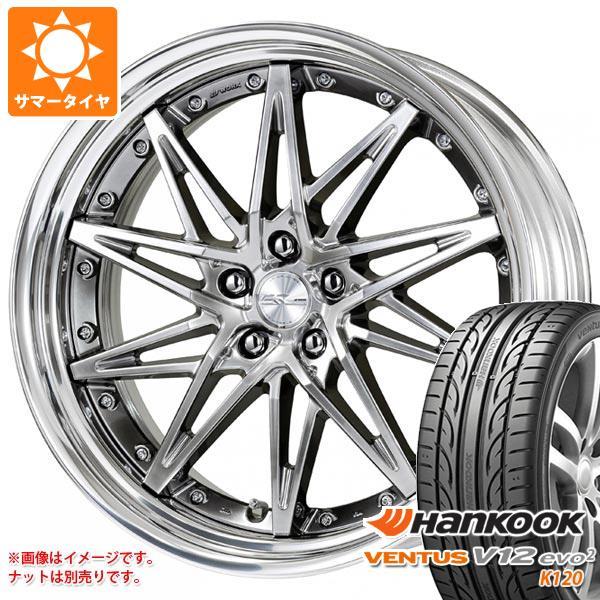 サマータイヤ 245/35R21 96Y XL ハンコック ベンタス V12evo2 K120 シュヴァート SG1 9.0-21 タイヤホイール4本セット