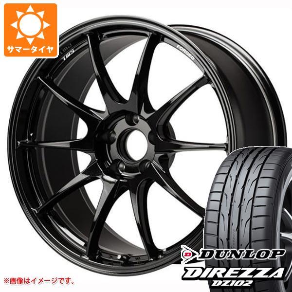 サマータイヤ 225/50R18 95W ダンロップ ディレッツァ DZ102 TWS モータースポーツ RS317 8.0-18 タイヤホイール4本セット