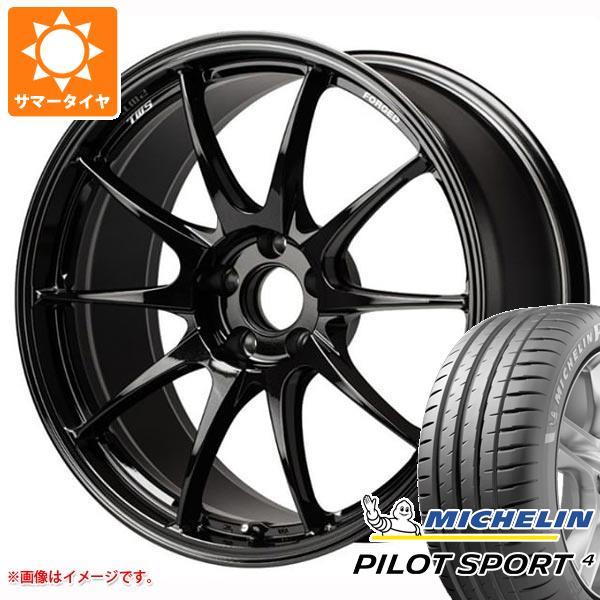 正規品 サマータイヤ 215/45R18 (93Y) XL ミシュラン パイロットスポーツ4 TWS モータースポーツ RS317 8.0-18 タイヤホイール4本セット