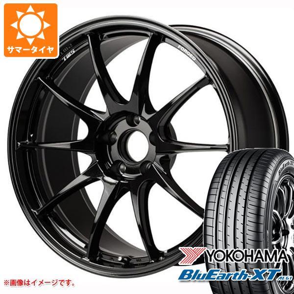 サマータイヤ 235/55R18 100V ヨコハマ ブルーアースXT AE61 TWS モータースポーツ RS317 8.0-18 タイヤホイール4本セット